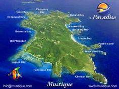 Grenadine Islands Resorts   ... The Grenadine Islands / Karibik - Kleine Antillen - Windward Islands