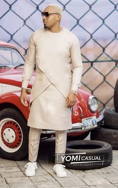 Yomicasual African Attire For Men, African Clothing For Men, African Shirts, African Outfits, African Print Fashion, African Wear, Best Q, Agbada Styles, Latest Aso Ebi Styles