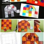 Squared elephants - use with Elmer by David McKee Art Sub Plans, Art Lesson Plans, Animal Art Projects, Book Projects, Kindergarten Art, Preschool Art, Art Sub Lessons, Elmer The Elephants, Classe D'art