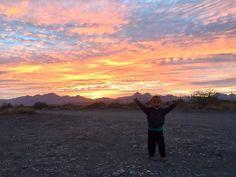 Bellos atardeceres desde Loreto! Beautyful sunsets from Loreto!