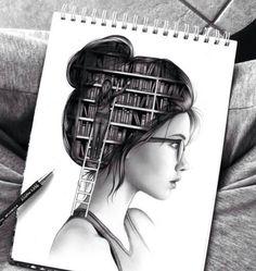 Alle gelezen verhalen zitten in je hoofd.