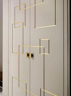 The closet doors, we give you 45 ideas in photos!, how to choose the closet doors for the bedroom. Wardrobe Laminate Design, Wall Wardrobe Design, Wardrobe Door Designs, Bedroom Wardrobe, Wardrobe Doors, Closet Designs, Closet Doors, Wardrobe Closet, Placard Design