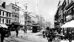 This is how Cardiff looked 100 years ago - Wales Online Uk History, Local History, Old Pictures, Old Photos, Cymru, Cardiff, Old Skool, South Wales, Welsh