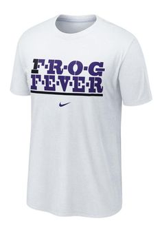 TCU Horned Frogs Nike Mens White Local T-Shirt