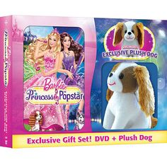 Barbie: The Princess & The Popstar (Exclusive) (With Plush Dog) walmart 14.96