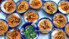 Bánh bèo - Vietnamese Savory Steamed Rice Cake (Water Fern Cake) - my most favorite Viet dish, other than bún riêu.