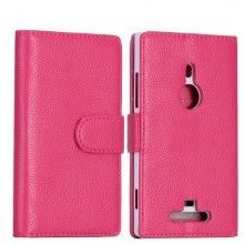 Custodia Lumia 925 - Tipo Libro Rosa  € 9,99