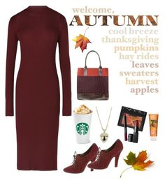 """""""Welcome,Autumn"""" by im-karla-with-a-k ❤ liked on Polyvore featuring NARS Cosmetics, Maison Margiela, Dolce&Gabbana and Reeves And Reeves"""