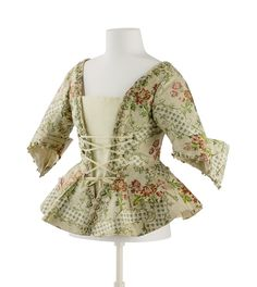 Jacket ca. 1750From theKunstgewerbemuseum, Staatliche Museen zu Berlin via Europeana Fashion