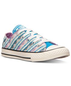 f79ce82e060 Converse Girls  Chuck Taylor Ox Camp Craft Casual Sneakers from Finish Line  Converse Trainers