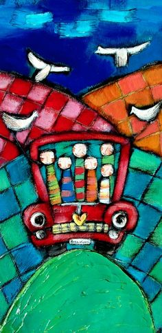 Arte de Olivia Art Lessons For Kids, Art For Kids, Paintings I Love, Naive Art, Angel Art, Painting Lessons, Mosaic Patterns, People Art, Art Journal Inspiration
