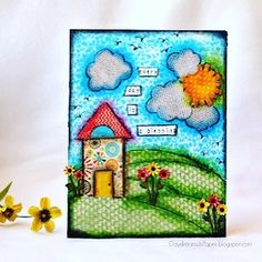 Happy Monday!! Let's start off this week with some fun on the @simonsaysstamp Monday Challenge. Our theme this week is to use patterned paper. I've used several die cut sets to create this 'Every Day Is. A Blessing' mixed media panel. All the details for the challenge and a step by step tutorial are on my blog (link in profile). Join us for a chance to win a $50 gift voucher! #simonsaysstamp #sssck #sssmchallenge #mixedmedia #patternedpaper #handmade #papercraft #paper #blessings