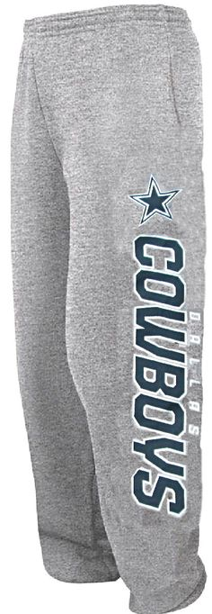 Dallas Cowboys Mens Grey Confidence Sweatpants $34.95