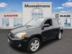 2008 Toyota RAV4 Sport SUV Serving Glen Burnie      20MPG City 25MPG Hwy     2.4L I-4 cyl     Automatic     Black Exterior Color     Dark Charcoal Interior Color     Model Code: 4442     Stock #: 4170     VIN: JTMBD32V186078867     Mileage: 87477  Detailed Pricing      $15,488 Suggested Retail Price     $1,507 You Save     $13,981 Musselman's Price  #MusselmansDodge #Dodge #Maryland #Catonsville #Vehicles