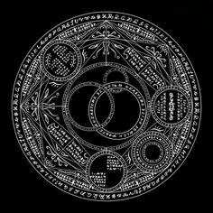 [pixiv] Magic crests and symbols - pixivスポットライト