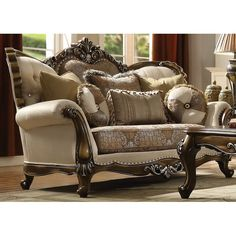 online shopping for Mccloud Loveseat Astoria Grand from top store. See new offer for Mccloud Loveseat Astoria Grand Acme Furniture, Home Decor Furniture, Sofa Furniture, Living Room Furniture, Furniture Design, Luxury Furniture, Furniture Ideas, Old Bookcase, Living Room Sets