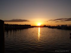 Amazing Sunset at Crosby Yacht Yard - Osterville, MA