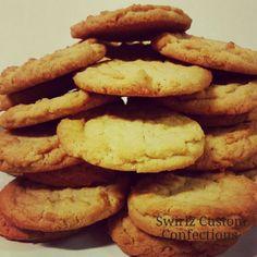 Peanutbutter cookies www.swirlzcustomconfections.com