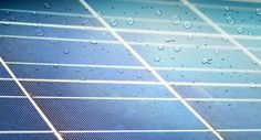 Future Solar Panels Will Generate Energy From Raindrops. Read about it here- http://www.foxnews.com/tech/2016/04/11/electric-rain-solar-panel-turns-raindrops-into-power.html
