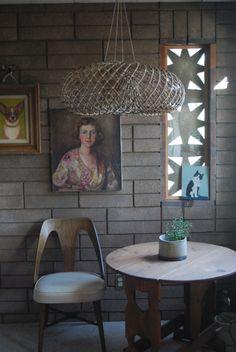 vintage wall art / modern interior