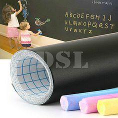 200 X Removable Blackboard Vinyl Wall Sticker Chalkboard Decal 5 Chalk UK for sale online Mirror Stickers, Nursery Wall Stickers, Removable Wall Stickers, Name Stickers, Wall Stickers Murals, Vinyl Wall Art, Wall Decal Sticker, Vinyl Decals, Chalkboard Markers