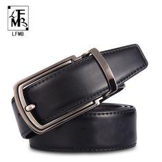 >> Click to Buy << [LFMB]leather belt men designer belts men high quality male genuine leather strap ceinture homme cuir veritable free shipping #Affiliate
