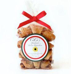 Butterhorns, One Bag (8 cookies)