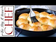 Rapid Rise Skillet Yeast Rolls will have homemade dinner rolls on your table in under 1 hour with absolutely no stand mixer required! My Recipes, Baking Recipes, Favorite Recipes, Bread Recipes, Quick Yeast Rolls, Homemade Dinner Rolls, Homemade Breads, Bread And Pastries, Easy Bread