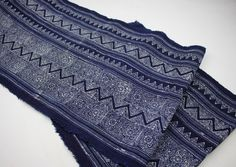Batik Indigo Fabric from Hmong Village for Project by HomeByPat