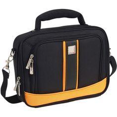 Urban Factory Vicky's Women's Bag for 15.6 Notebook - Black/Orange (VQ9966)