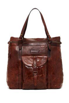 Josie Leather Backpack Tote by Frye on @nordstrom_rack