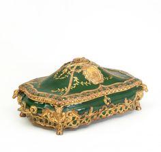 Museum-Quality Rococo Casket.   Possibly Berlin, Dresden or Venice. Circa 1745-60.