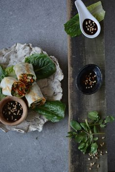 Popiah Prawn and Vegetable Spring Rolls