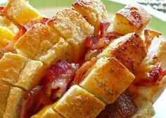 Quick & Easy Football Snacks | Cheddar Bacon Ranch Pulls