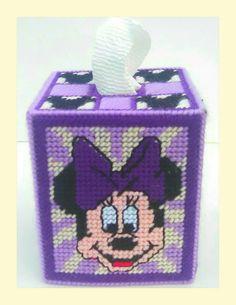 Cubierta de caja del tejido de Minnie
