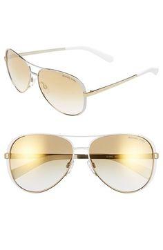 Michael Kors Collection 59mm Aviator Sunglasses | Nordstrom