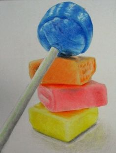 I really love the variety of colours which are bright and fun which will be the whole basis of my magazine. I also love the retro sweets which bring a funky feel to the magazine which has connotations of childhood which for my audience the majority will be positive memories which is the kind of tone that I wish to convey through design.