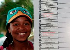 Via Sony Open Tennis  @#SonyOpenTennis 3/16/14 Thanks @vicky_duval95 for being our special guest for the Women's Draw! Good luck out there! #SonyOpenTennis