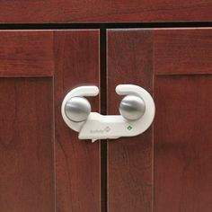 Safety 1st Grip N Go Baby Childproof Cabinet Lock 2 Pack