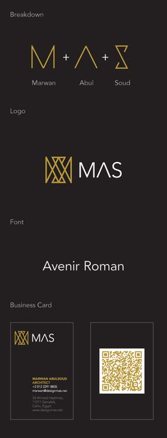 MAS | Identity by Islam Zayed, via Behance