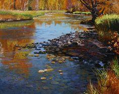 Andrew Kiss - Still Landscape Quilts, Landscape Paintings, Landscapes, Sketch Painting, Watercolor Paintings, Watercolors, Art Paintings For Sale, Country Scenes, Pastel Art