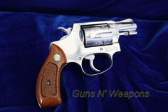 Engraved S&W Model 60 38Special Revolver