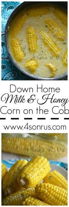 If you don't try any other new corn recipe this season, try this. Down Home Milk…