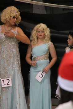 Womanless Beauty Pageant, Ballet Boys, Feminized Boys, Pageants, Prom Dresses, Formal Dresses, Tgirls, Girly Stuff, Crossdressers