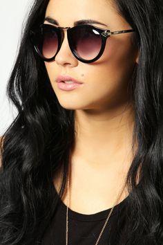 Gina Metal Trim Sunglasses