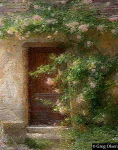 Door to Paradise - Greg Olsen