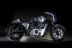 Racing style Harley Davidson custom MC