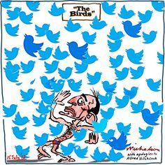 Twitter study show left wing bias in users bedevils Liberals cartoon 2013-07-15
