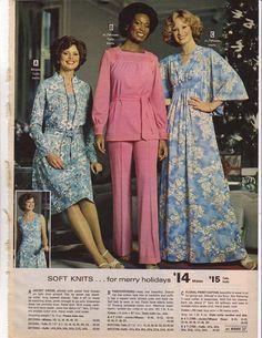All sizes   1975-xx-xx Montgomery Ward Christmas Catalog P037   Flickr - Photo Sharing! Classic Fashion, 70s Fashion, Classic Style, Vintage Fashion, Montgomery Ward, Christmas Catalogs, Bridesmaid Dresses, Wedding Dresses, Hosiery