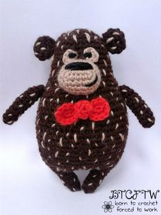 Guest Post Beary | Born to Crochet Forced to Work @OombawkaDesign